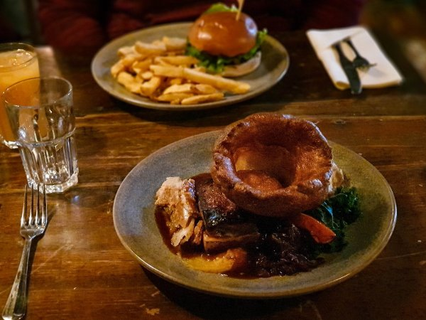 The Mill at Elstead Roast and Burger