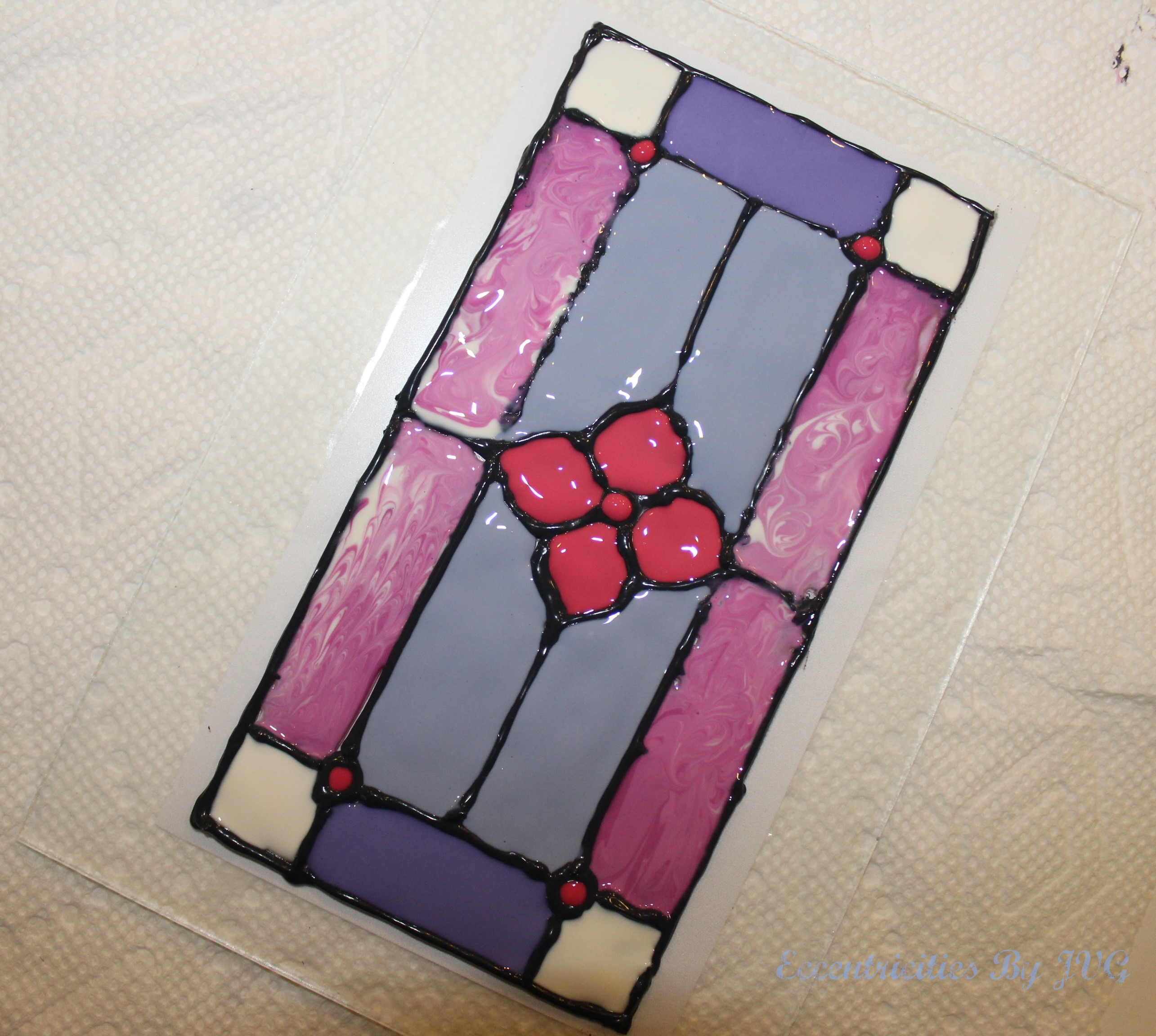 traditional style stained glass art