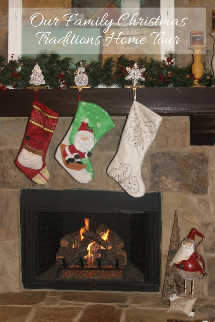 Our family Christmas traditions home tour
