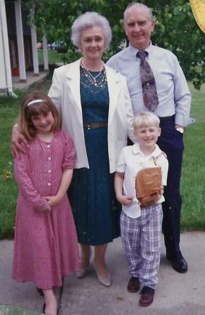 With my cousins, Melissa & Matthew