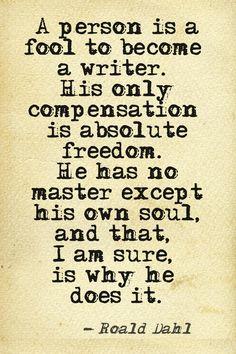 Writer Freedom
