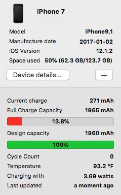 バッテリー再調整(キャリブレーション)中です