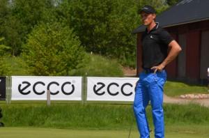 Rasmus Hjelm missede en gylden matchbold ved Isaberg Open hosted by Patrick Sjöland, hvor han dog sluttede som delt nummer fire.