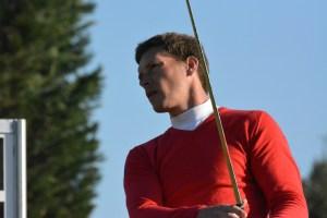 Rasmus Hjelm skal tirsdag i førerbold ved PGA Catalunya Resort Championship.