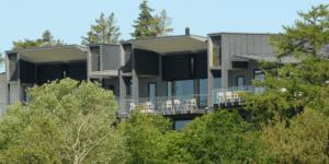 Storådalens Golfklubs klubhus og restaurant