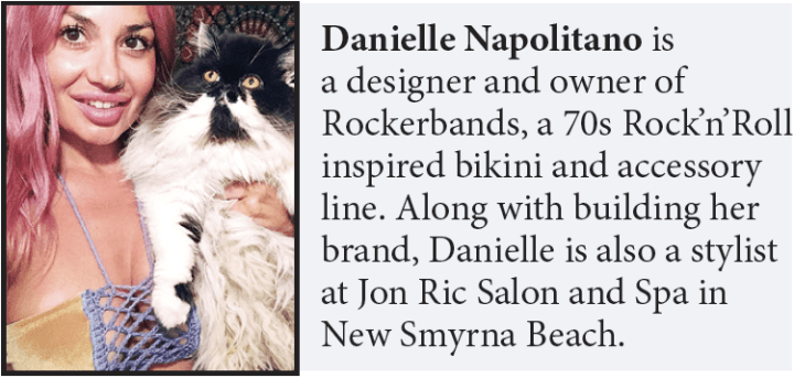 Danielle Napolitano author biography
