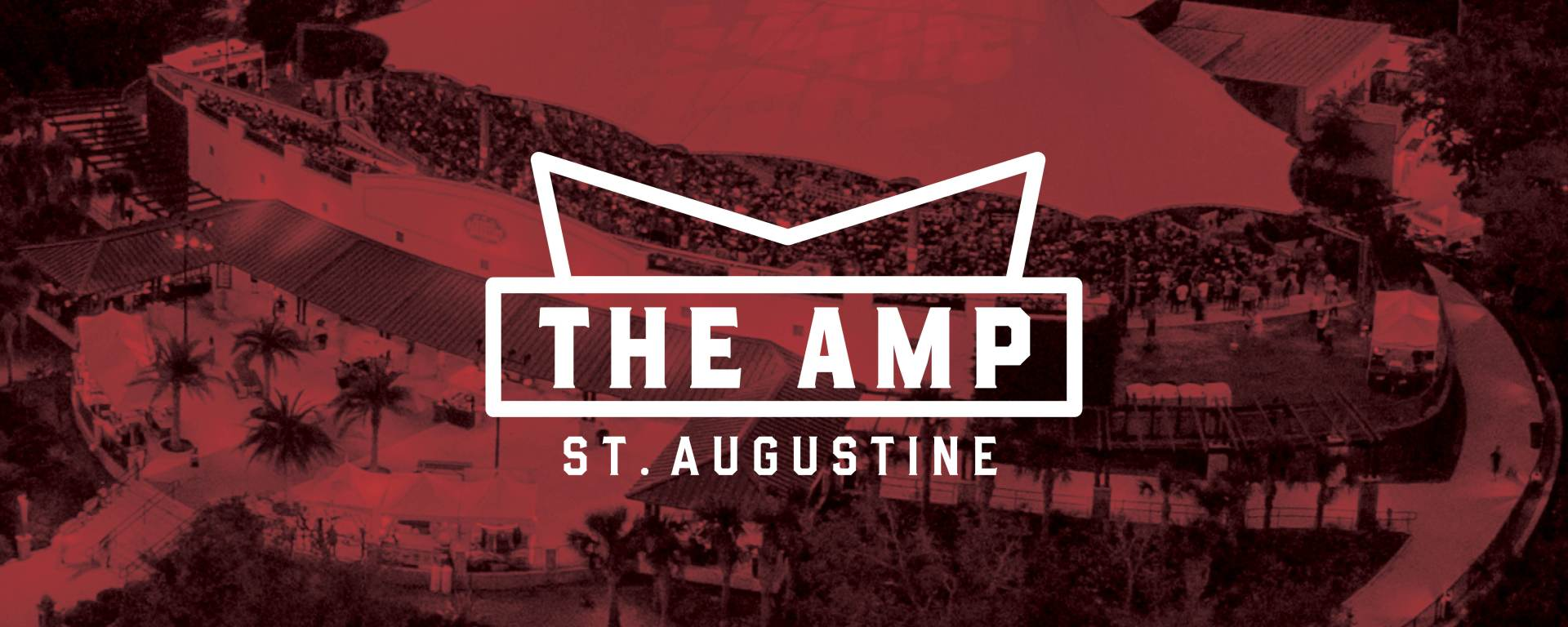 the amp st Augustine venue and logo
