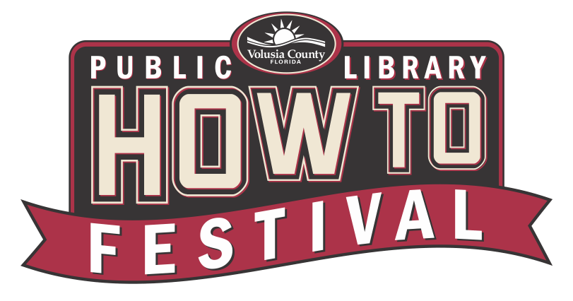 public library how to festival logo