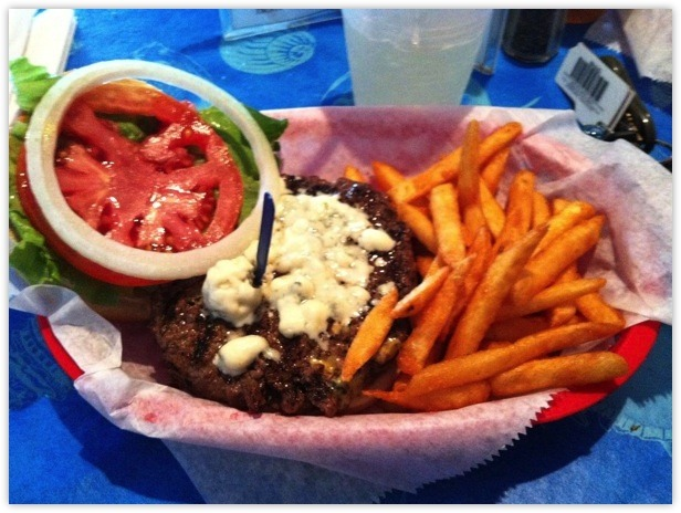Breakers - Blue Cheese Burger