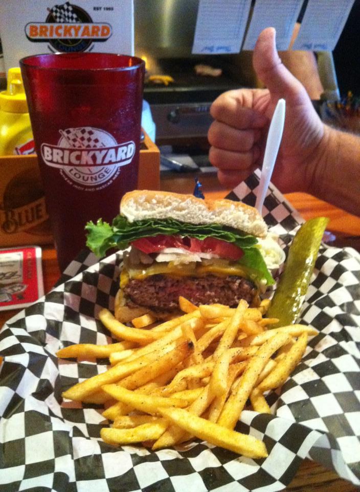 Brickyard - all the way burger