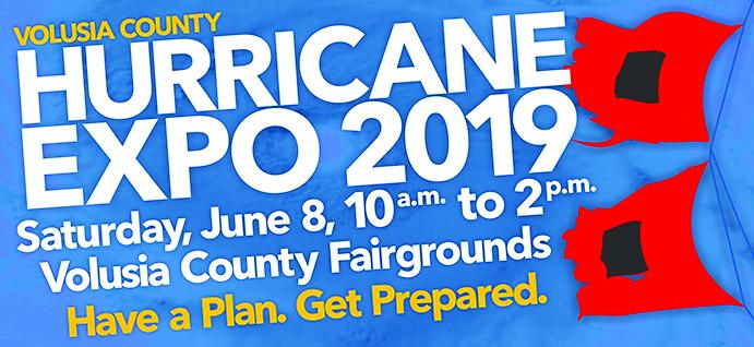hurricane expo event poster