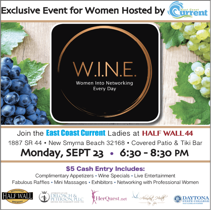 WINE women into networking everyday September 2019 event