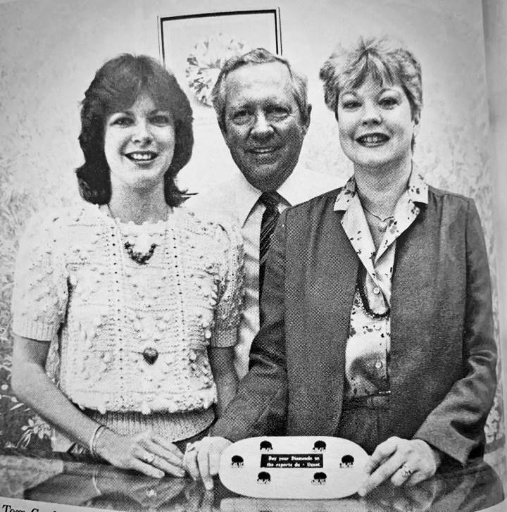 Sheryl Cook, Tom Cook, Jr. and Vicki Cook Leonhardt