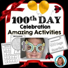 100th Day of School Activities - 100 Gumballs