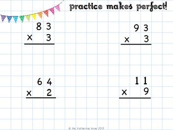 Image Result For 2 Digit Multiplication