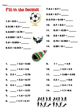 Image Result For Math Worksheets For Grade 3 Fractions And Decimals
