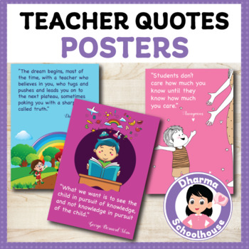 25 inspirational quotes for teachers back to school posters room decor