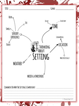 5 Literary Elements Worksheets By Stacey Lloyd