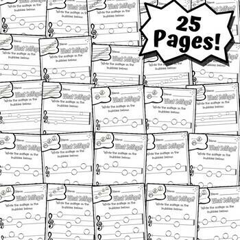 60 Elementary Music Worksheets