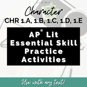 AP Lit and More - Essential Skill tests