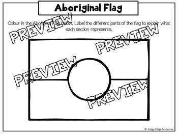 Australian Flags Posters And Worksheets By Ridgy Didge