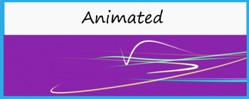 "Animated Google Classroom Header  ""Squiggles"""