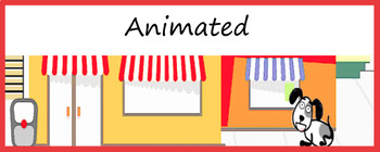 Animated Google Classroom Headers (My Pets) for Distance Learning