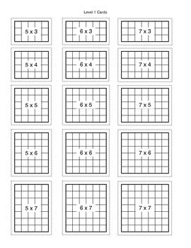 Array Break Multiplication Worksheet By Mr Readys Class