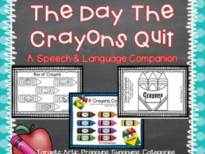 Articulation Crayon Playdough Mats