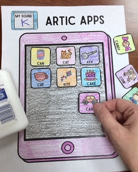 Articulation Cut & Paste BUNDLE #2 ! Speech Therapy Craft ...