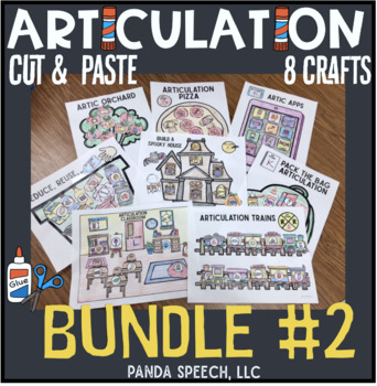 Articulation Cut & Paste BUNDLE #2 ! Speech... by Panda ...