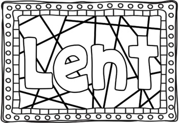 ash wednesday coloring pages # 7