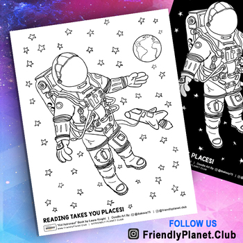 Outer Space Coloring Pages Worksheets Teaching Resources Tpt