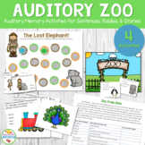 Auditory Memory Teaching Resources