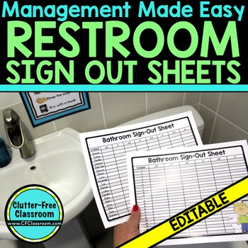 Bathroom Sign Out Sheet Free - Bathroom Design