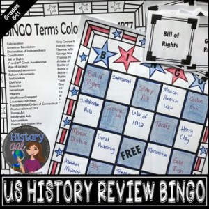 U S  History Midterm  EOC  and Final Exam Review Game   Bingo by     U S  History Midterm  EOC  and Final Exam Review Game   Bingo