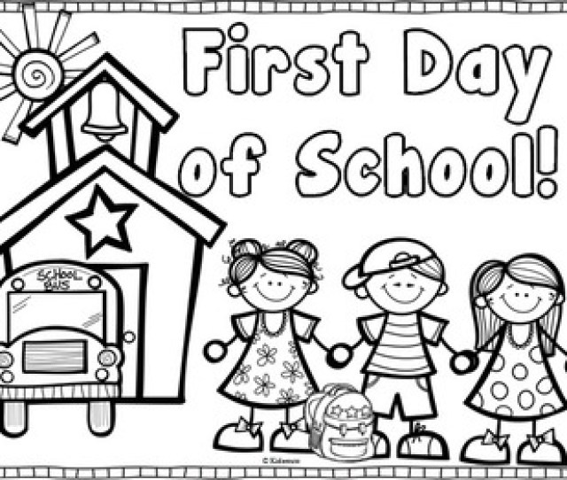 Back To School Coloring Page Freebie By Creative Lesson Cafe Tpt