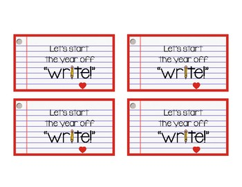 Back To School Pencil Gift Tags By Sassy At Central TpT