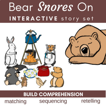 Bear Snores On Literature Link Storytelling Sequencing