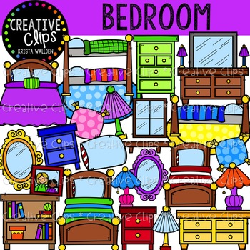 Bedroom Clipart Creative Clips