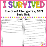 I Survived - The Great Chicago Fire, 1871 - Book Study