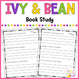 Ivy and Bean - Book Study
