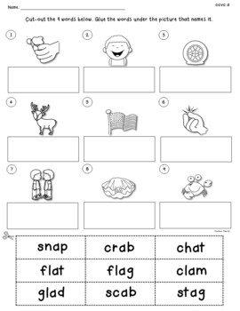 Ccvc And Ccvcc Worksheets To Identify Read Write And