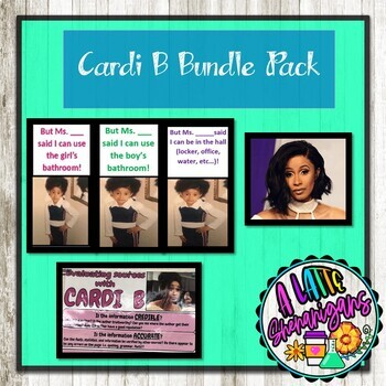 cardi b bundle passes evaluating sources poster i write it like that poster
