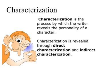 Characterization Smartboard Lesson By Lana Mowdy