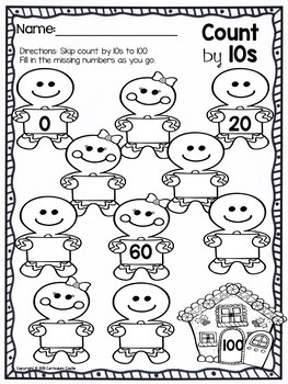 Christmas Skip Counting Freebie By Curriculum Castle Tpt