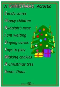 christmas acrostic poem merry christmas and happy new year 2018