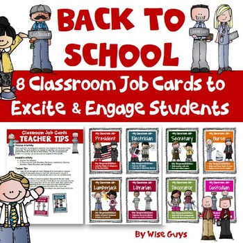 Classroom Jobs are an important part of the school day. Have your students help by doing a classroom job.