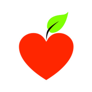 Download Clip Art: Heart Apple Image by ModEducator | Teachers Pay ...