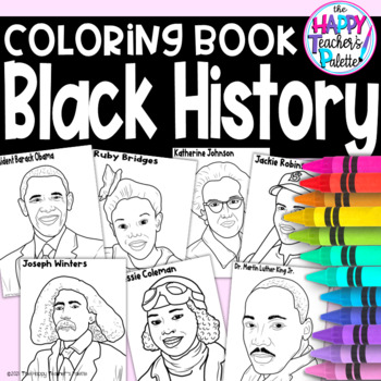 Coloring Book Black History Month By The Happy Teacher S Palette